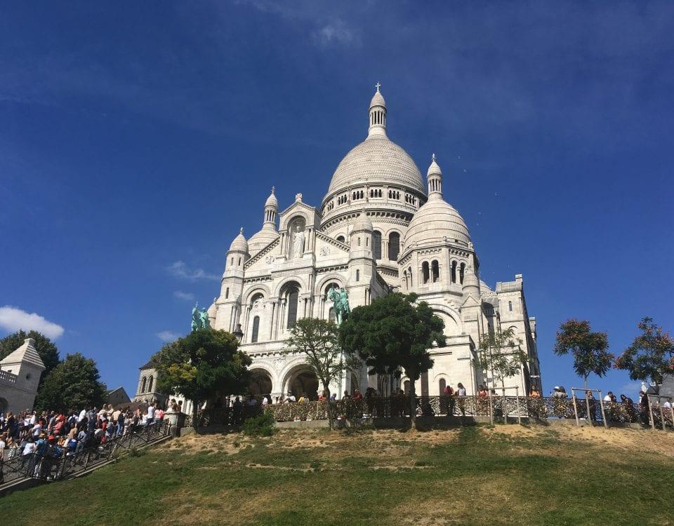Basilique du Sacré Coeur à Montmartre