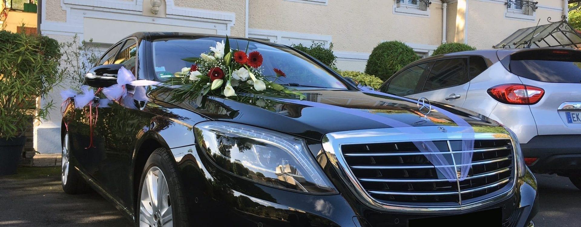 Location de voitures avec chauffeur pour votre mariage
