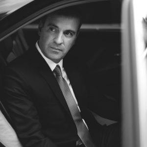 Servicio de coche con conductor para viajes de negocio